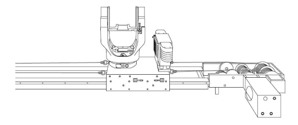 Doggicam Systems Super Slide Design with Intech Power-Core rollers
