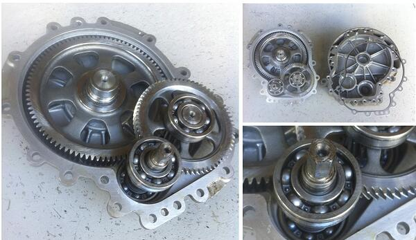Segway Helical gear Gearbox