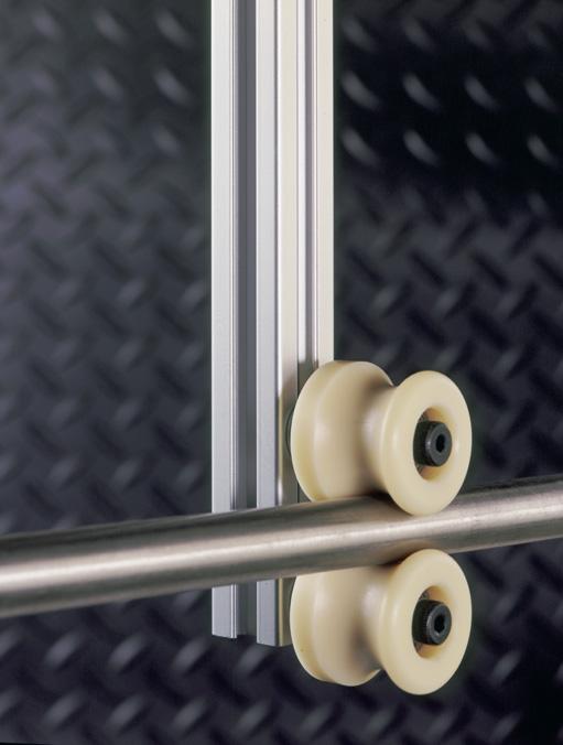 Intech Rollers for High Security Door