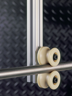 Intech Rollers for High Security Door