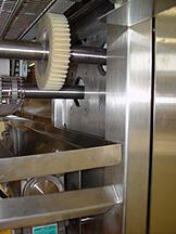 KLEENLine conveyor with Intech Gear